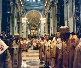 Hierarchs at the 400th Anniversary of Union of Brest
