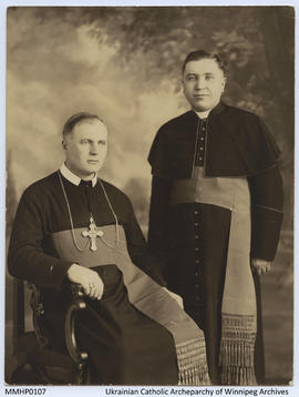 Portrait of Bishop Ladyka and Rev Mychajlo Gregorychuk