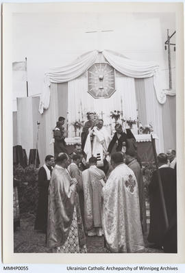 Bishop Maxim Hermaniuk's First Episcopal Divine Liturgy