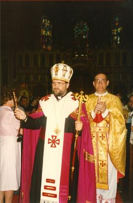 Bishop Soroka in Vestments