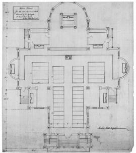 Ukrainian Catholic Church St. Gregor Floor Plan