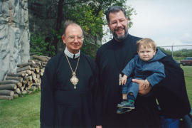 Metr. Bzdel and Fr. Winn, Cook's Creek Pilgrimage