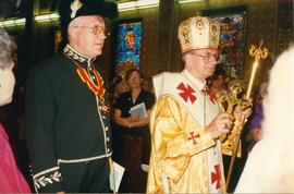 Metr. Michael Bzdel at Bishop Soroka's Ordination