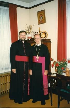 Metr. Michael Bzdel and Bishop Stefan Soroka