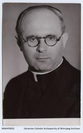 Portrait Photo of Reverend Maxim Hermaniuk