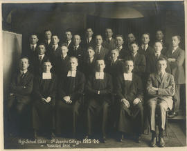 High School Class, St. Joseph's College