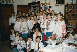 Ralph Brown School Carollers