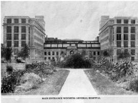 Winnipeg General Hospital - Main Entrance